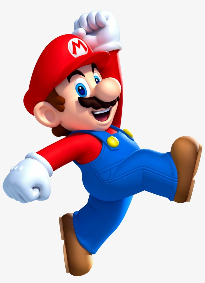 Mario Pixel Jump Super Mario Super Mushroom Fir - New Super Mario Bros U Mario, transparent png #1692079