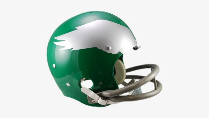 Philadelphia Eagles Tk Suspension Helmet - Green Bay Packers Old Helmet, transparent png #1692771