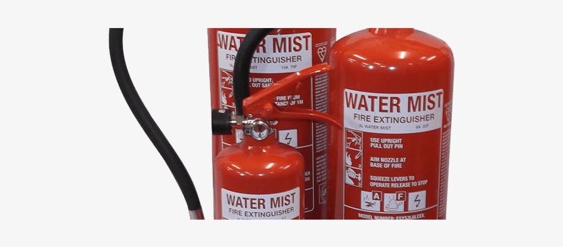 Watermist Extinguisher - 3ltr Water Mist Fire Extinguisher - Jewel Saffire, transparent png #1693504