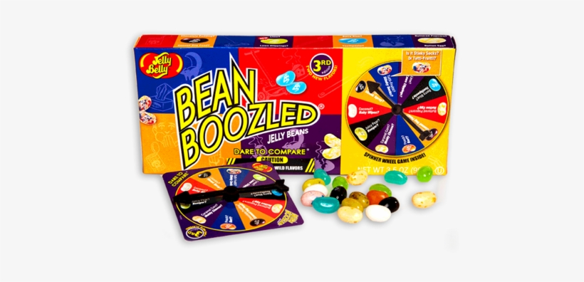 Jelly Belly Beanboozled Spinner Box - Jelly Belly Bean Boozled Spinner Gift Box, transparent png #1694163