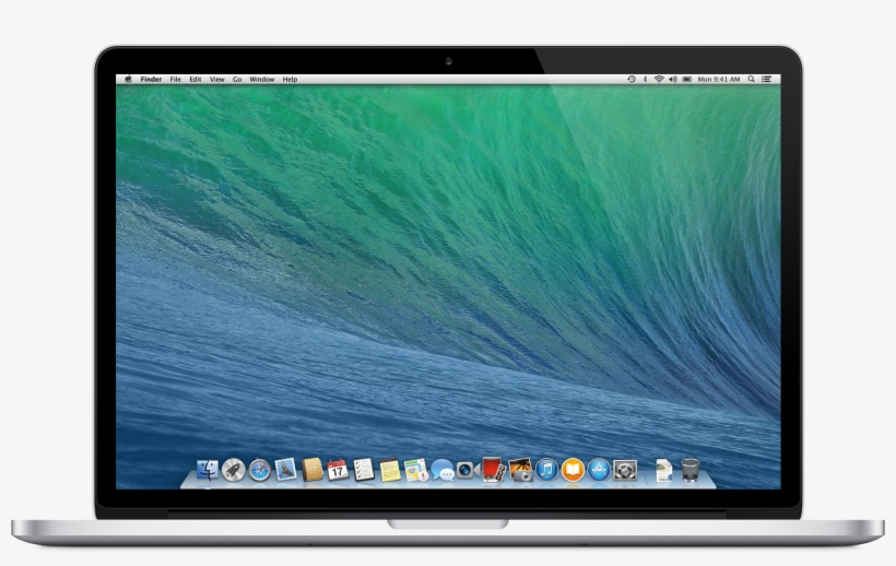 "Laptop Notebook Png Image - Apple Macbook Pro 15.5"" Retina (mid 2015), transparent png #1694318"