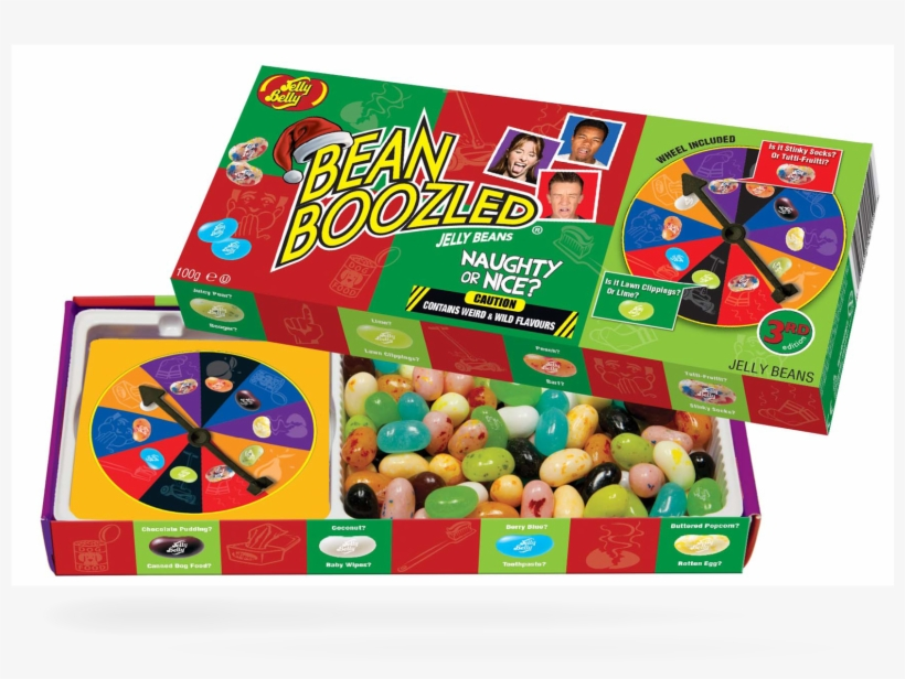 Jelly Belly Naugty Or Nice Bean Boozled Spinner Box - Jelly Belly Beanboozled Jelly Beans Candy, transparent png #1694365