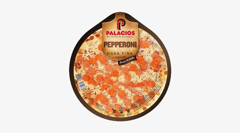 Thin-base Pepperoni Pizza - Pizza, transparent png #1694730