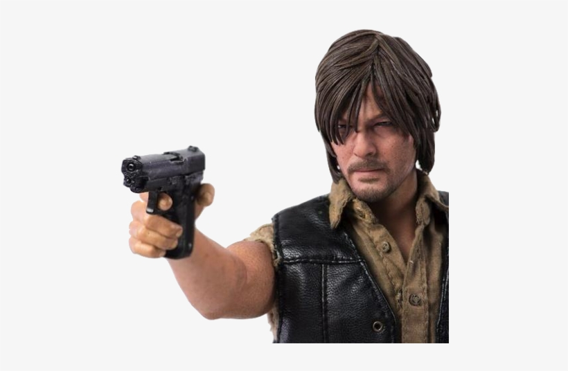 The Walking Dead Daryl Dixon 1/6 Scale Figure - 3a The Walking Dead Daryl Dixon 1:6 Scale Figure, transparent png #1695389
