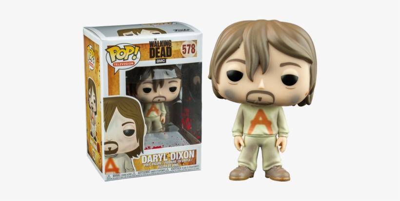 The Walking Dead Funko Pop Daryl Dixon - Walking Dead Funko Pop Daryl, transparent png #1695429