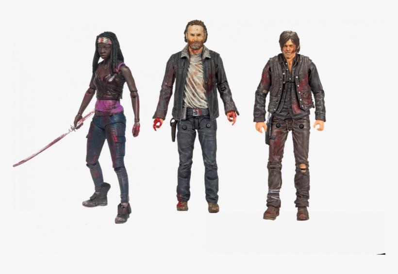 The Walking Dead - Walking Dead Action Figures, transparent png #1695528