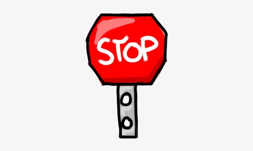 Stop Sign New - Stop Sign, transparent png #1696631