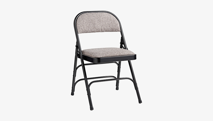 2900 Series Commercial Grade Fabric Padded Steel Cushioned - Samsonite Folding Chair, transparent png #1699555