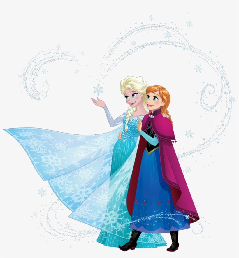 Elsa And Anna Sisters 2 - Disney Frozen Elsa And Anna Sisters, transparent png #170017