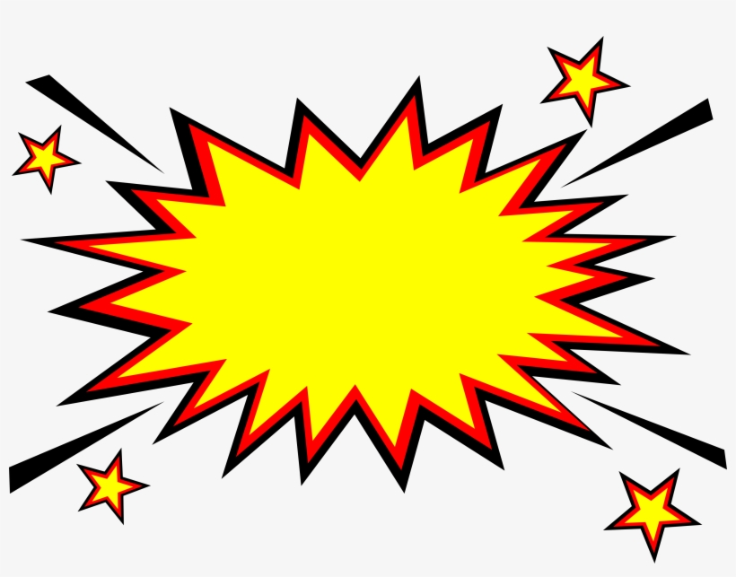 Free Download - Explosion Comic Png, transparent png #171904