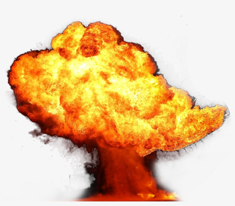 Explosion Fire Flame Png Image, transparent png #172852