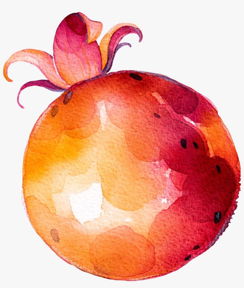 Fruit Vegetable Drawing - Fruits And Vegetables Painting, transparent png #173953
