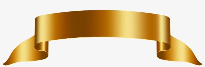 Gold Banner, transparent png #174097