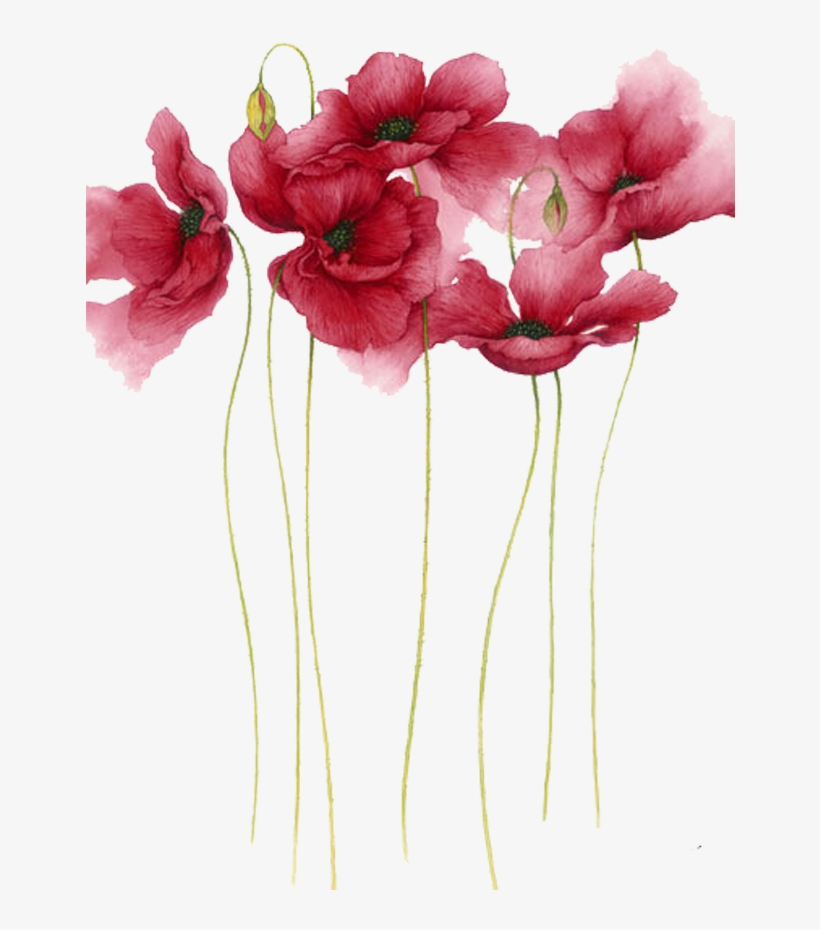 Watercolor Painting Flower Drawing Art - Flower Watercolor Painting, transparent png #176456
