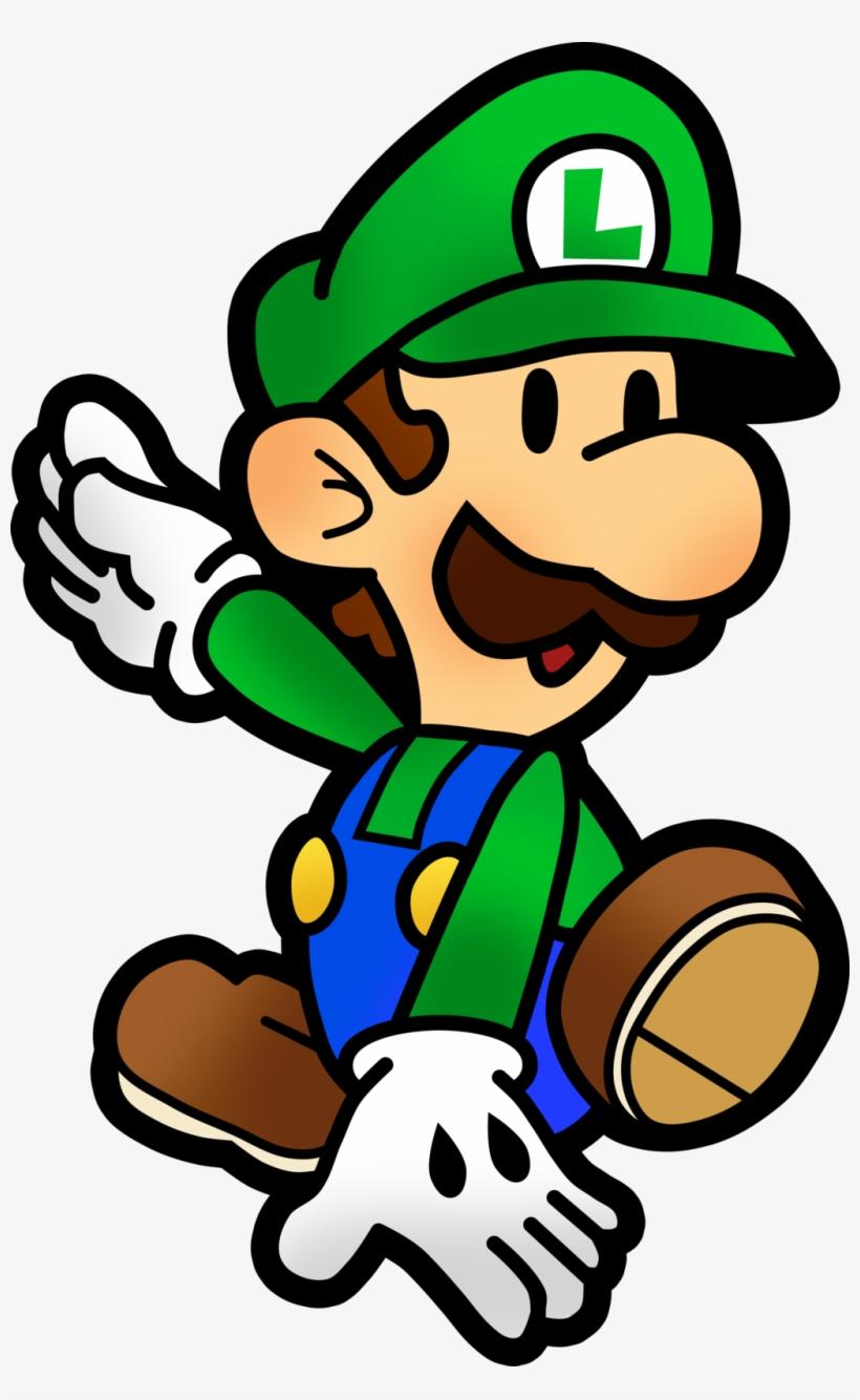 Mario And Luigi Paper Jam Paper Mario Luigi Png Free