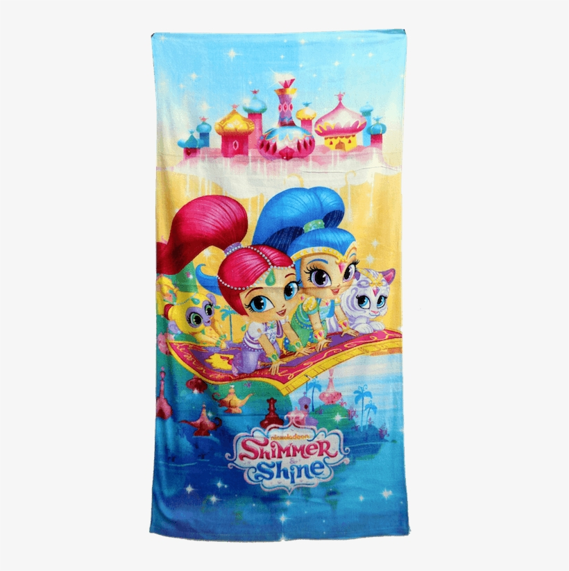Shimmer And Shine Towel - Shimmer And Shine, transparent png #177224