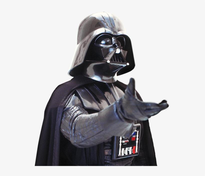 Darth Vader Reaching Out - Darth Vader Png, transparent png #177931