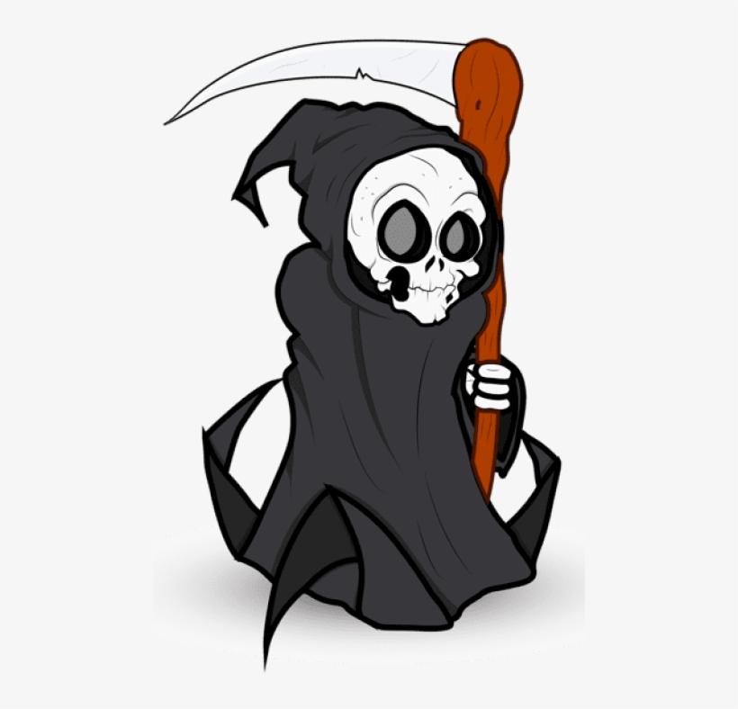 Halloween Grim Reaper Png Clipart - Halloween Grim Reaper Png, transparent png #177932