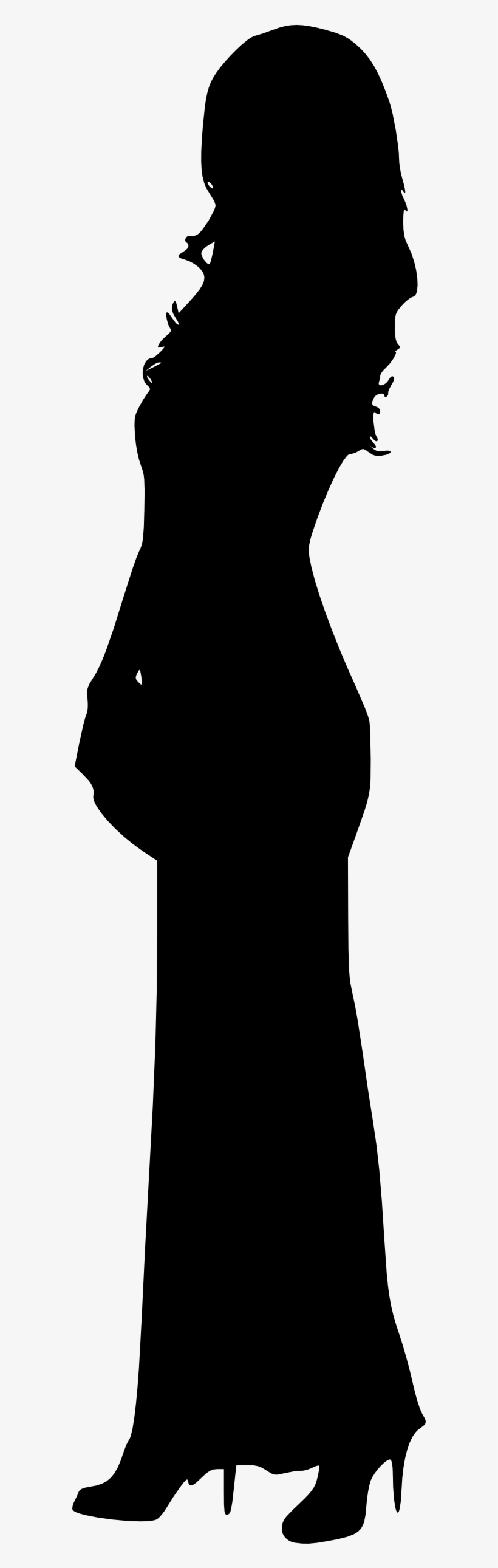 Free Png Woman Silhouette Png Images Transparent - Woman Silhouette Transparent Background, transparent png #178062