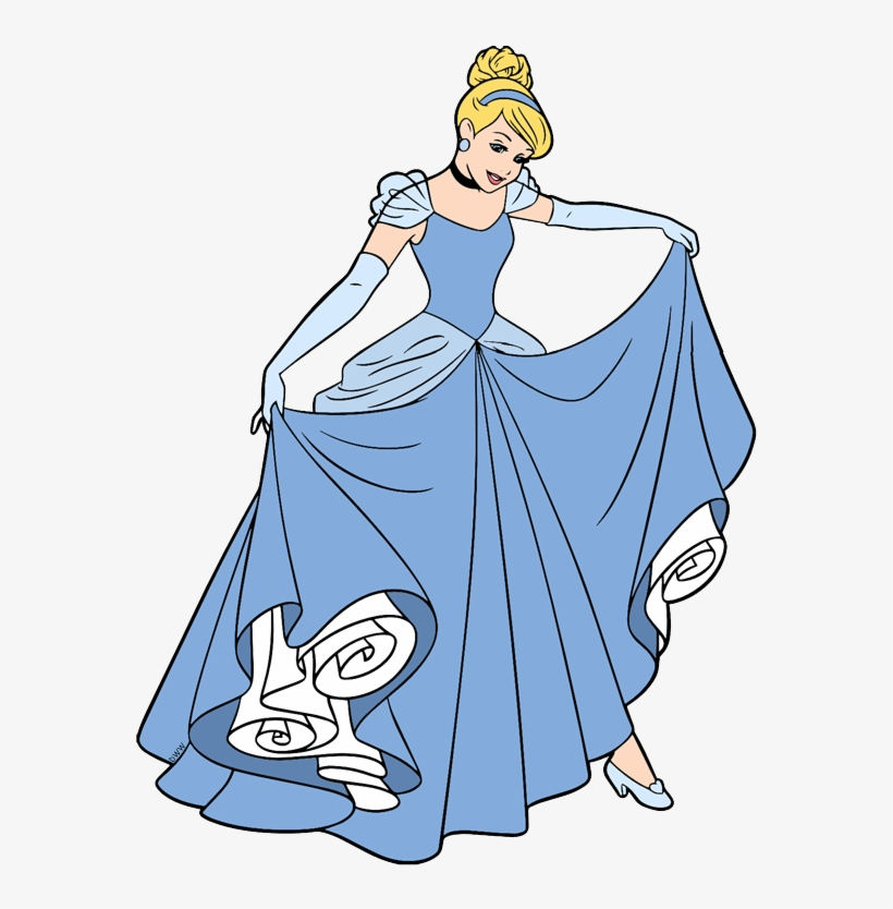 Gown Clipart Cinderella Ball Glitter Gifs Free Transparent Png Download Pngkey