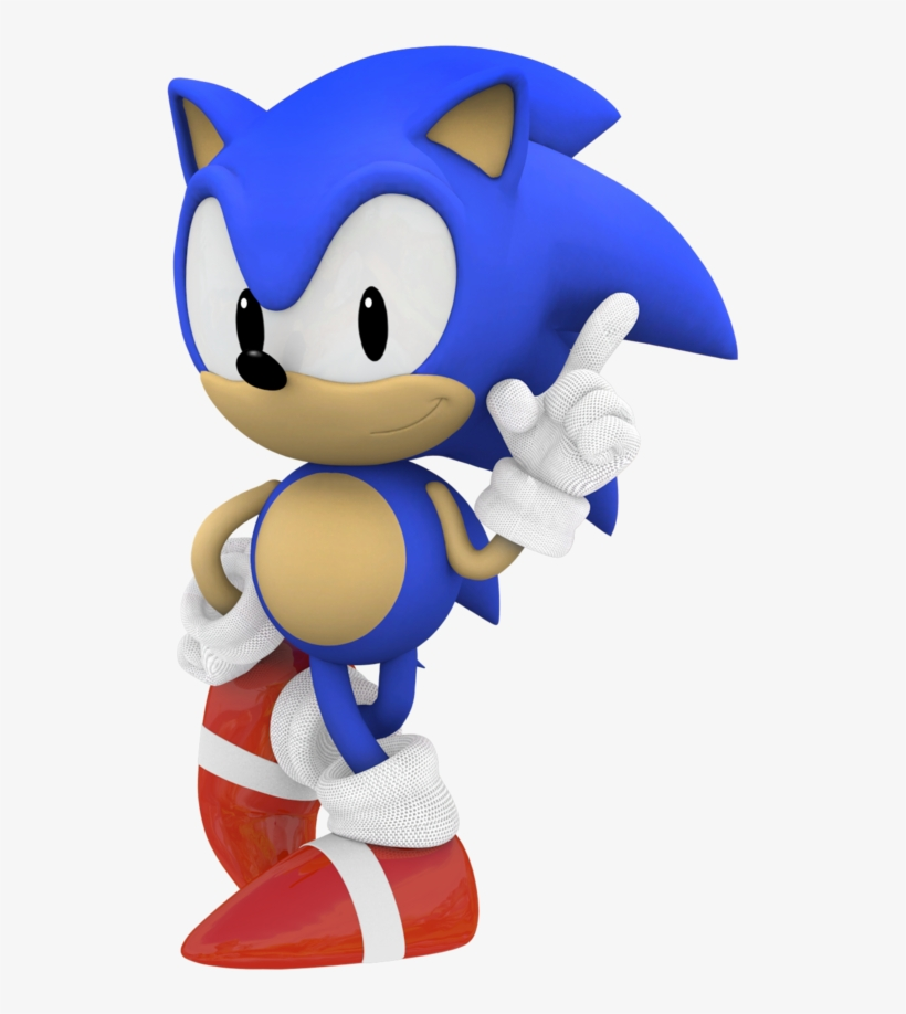 Photo Classic Sonic Sonic Run Free Transparent Png Download Pngkey