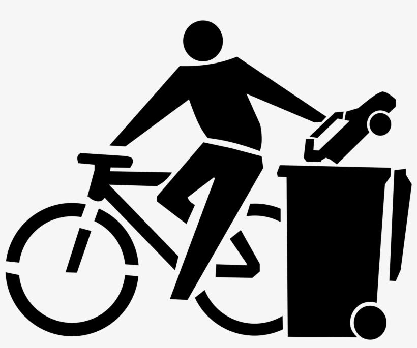 Bike Clipart Vehicle - Ride A Bike Not A Car Women's T-shirt, transparent png #179372