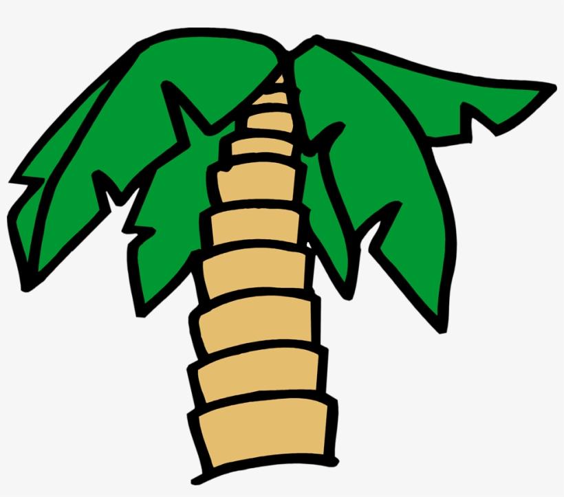 Palm Tree Free Stock Photo Illustration Of A Cartoon - Palm Tree Cartoon Transparent Background, transparent png #179373