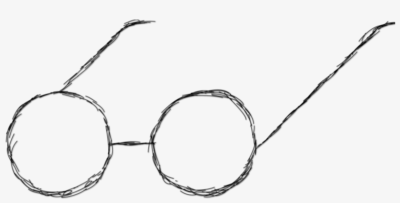 f6fbf24340 Glasses Drawing Harry Potter - Glasses Drawing Png - Free ...