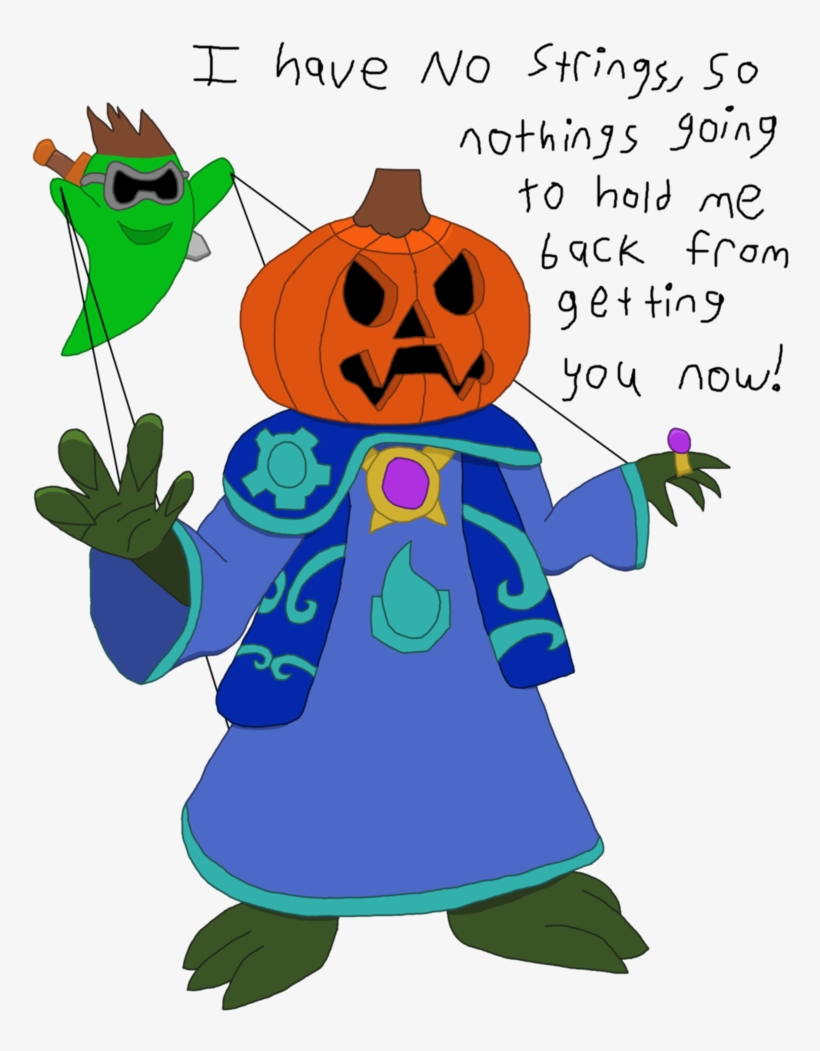 Pumpkin Head Puppeteer Mikius By Immersionman On Deviantart