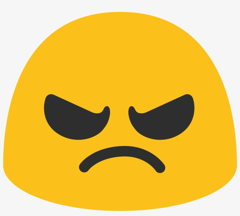 Angry Face Emoji Google Free Transparent Png Download Pngkey