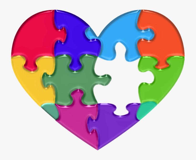 Resources Heartof Can - Autism Puzzle Piece Heart, transparent png #1700128