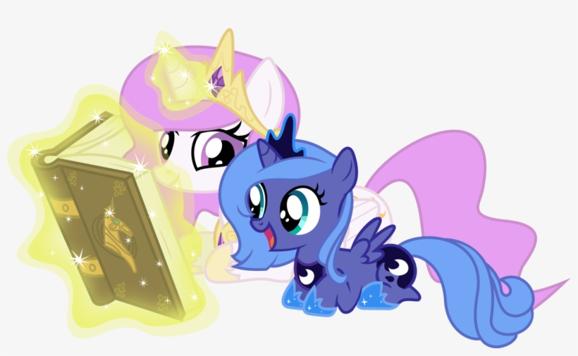 My Little Pony Princess Luna And Princess Celestias - My Little Pony Princess Luna And Princess Celestia, transparent png #1700746