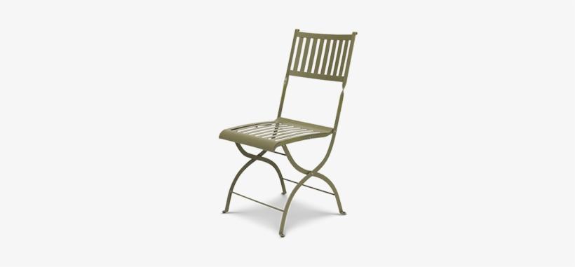 Ethimo Elisir Folding Chair – Mud Grey, transparent png #1700986