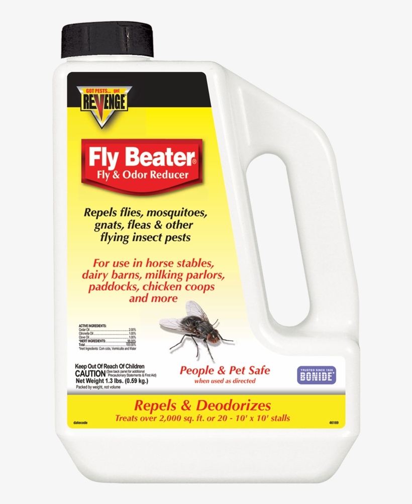 Revenge® Fly Beater & Odor Reducer - Fly Beater, transparent png #1702470
