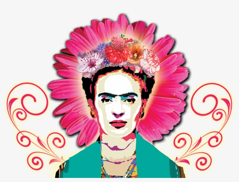 2016 Frida Kahlo Art & Music Festival Thehollywoodtimes - Frida Kahlo Face Png, transparent png #1704219