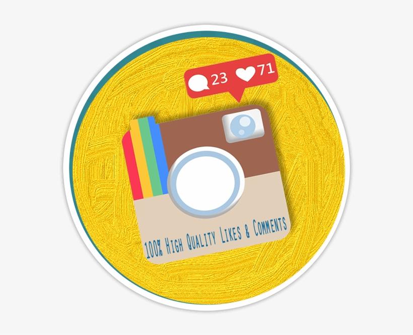 Buy Like Comments Instagram - Instagram, transparent png #1704445