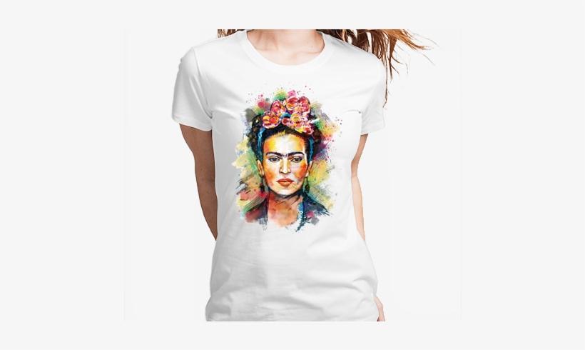 Frida Kahlo Tshirt Camiseta Camisa Tee - Frida Kahlo Painting Art Ipod Touch 6 Case, transparent png #1705138