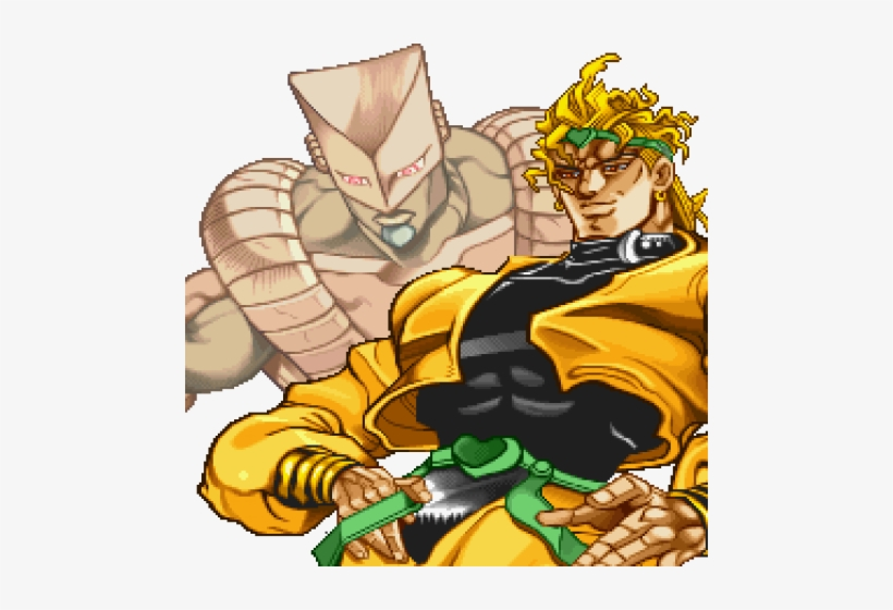 Click To Edit Dio Brando Hair Free Transparent Png Download Pngkey