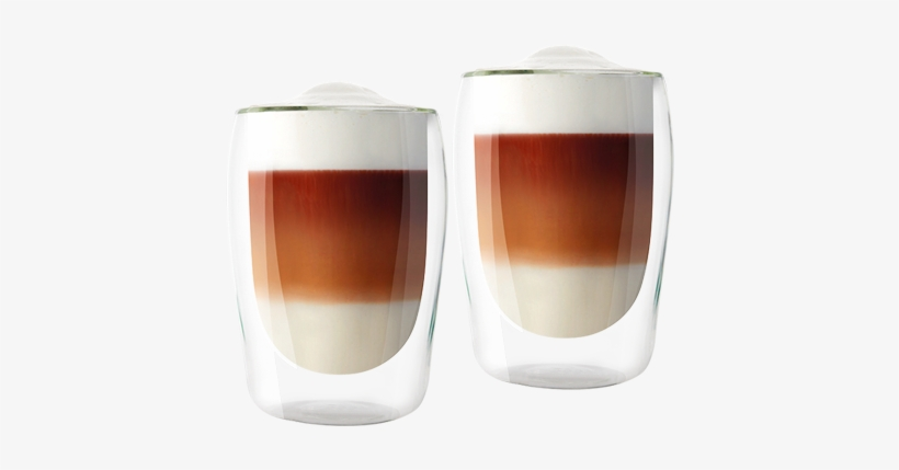 Double-walled Latte Macchiato Glasses - Melitta Double Wall Latte Glasses (300ml), transparent png #1708909