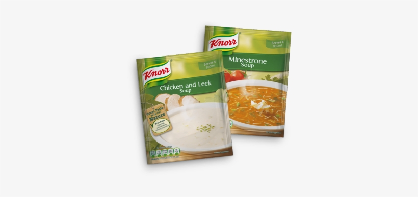 Minestrone Soup With Fresh Vegetables - Knorr Packet Minestrone Soup Delivered Worldwide, transparent png #1709084