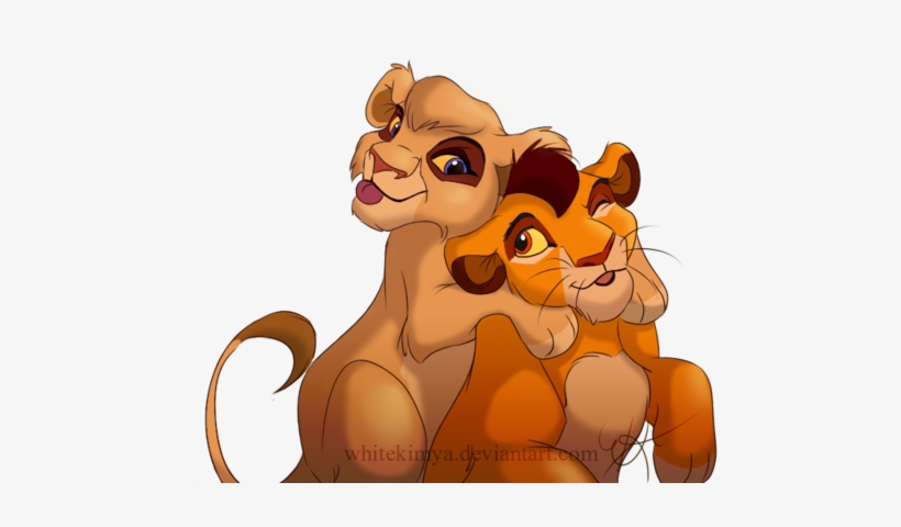 The Lion King Clipart Big Lion - Lion King Kopa And Vitani, transparent png #1709663