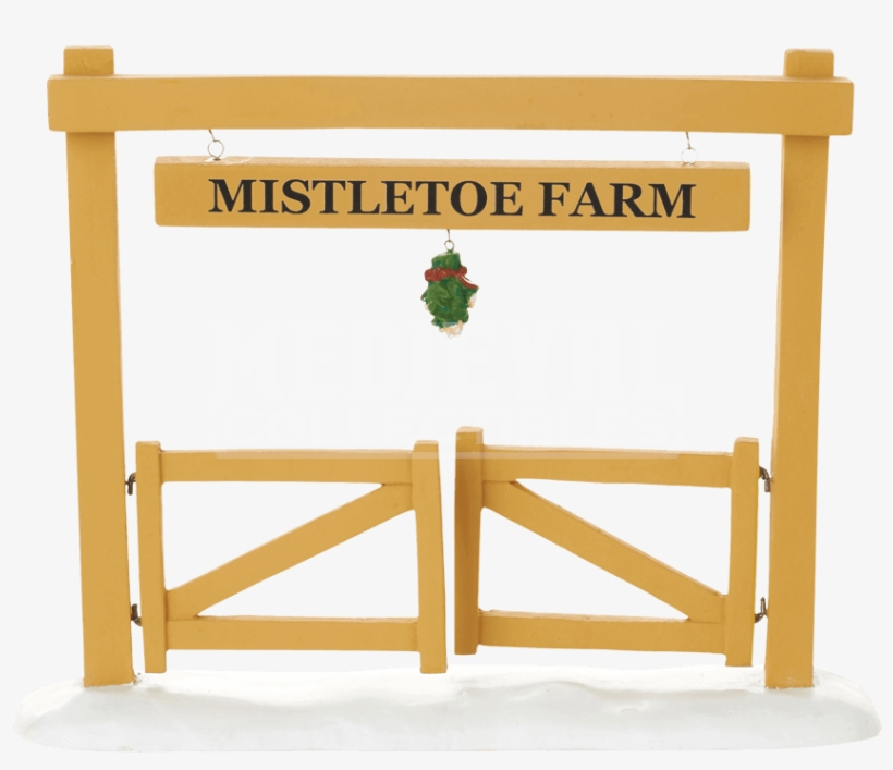 Mistletoe Farm Gate - Department 56 Village Mistletoe Farm Gate Accessory, transparent png #1710914