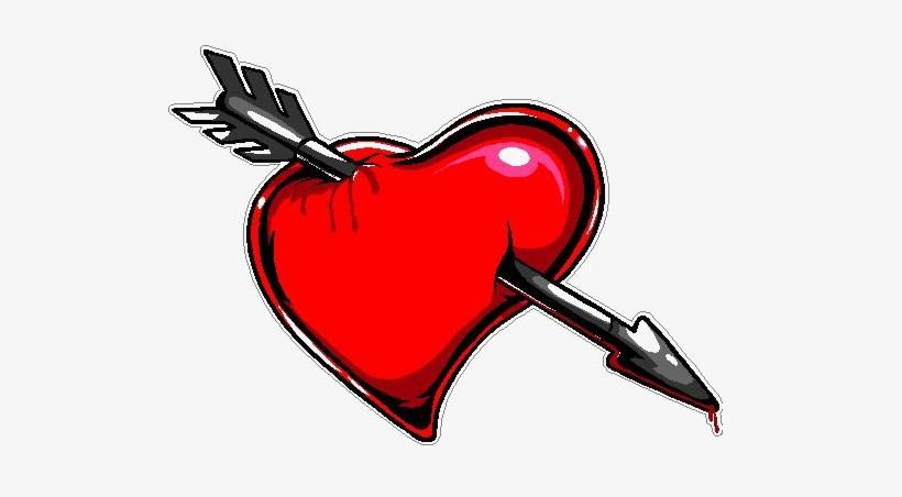 Arrows through Hearts