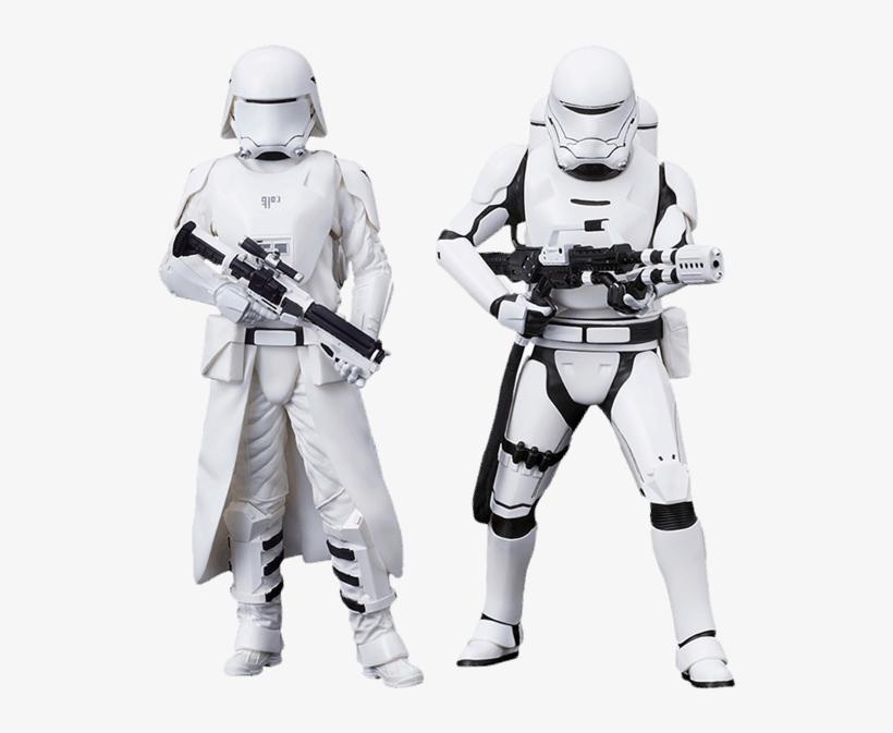 First Order Snowtrooper & Flametrooper 2-pack Figure - Star Wars Force Awakens: First Order Snowtrooper, transparent png #1711597