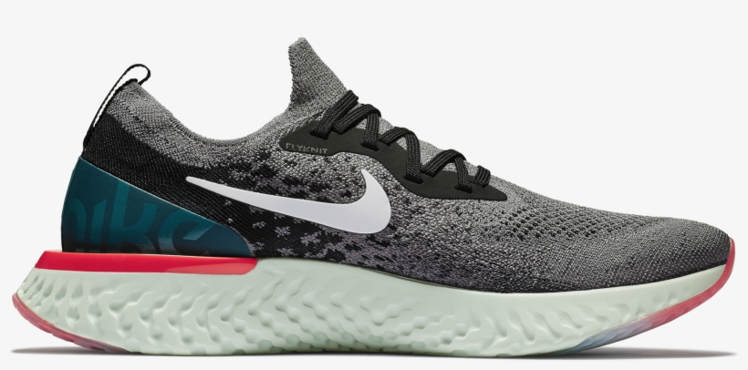 newest 7bd91 22137 Nike Epic React Flyknit On Feet. Nike Epic React Flyknit On Feet, transparent  png ...