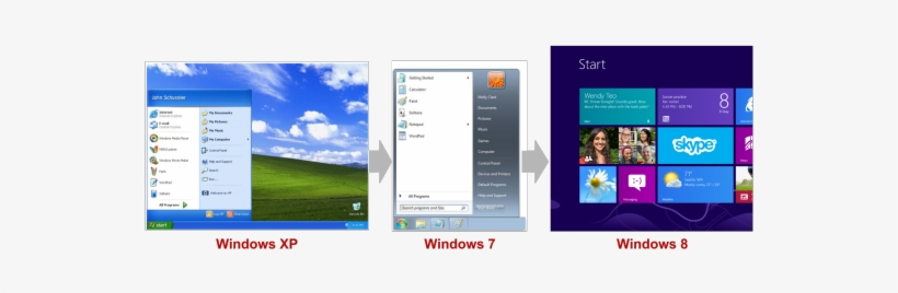 Windows Start Menu Comparison, transparent png #1714584