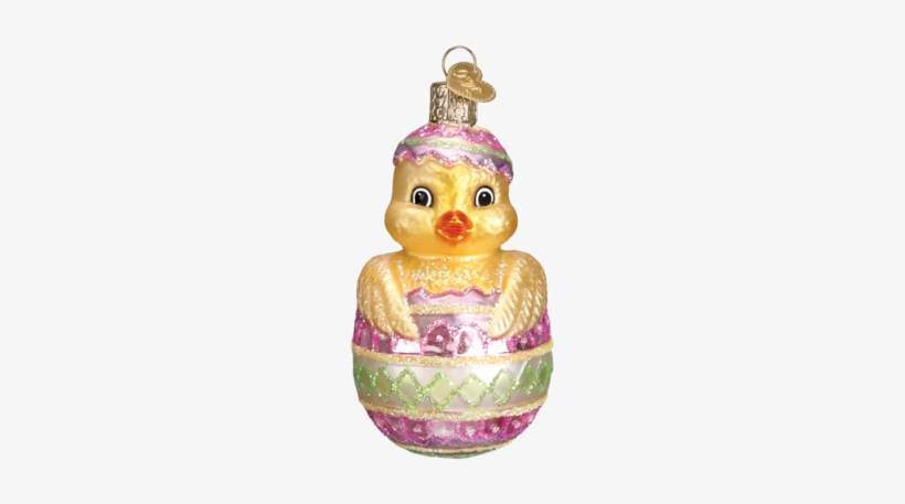 Easter Chick Ornament - Bassett Hound Glass Ornament By Old World Christmas, transparent png #1715338