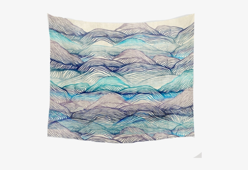 """Nature Decor, Wall Decor, Bice Tapestry, Beautiful - Society6 Ocean Throw Blanket - 51"""" X 60"""", transparent png #1715522"""