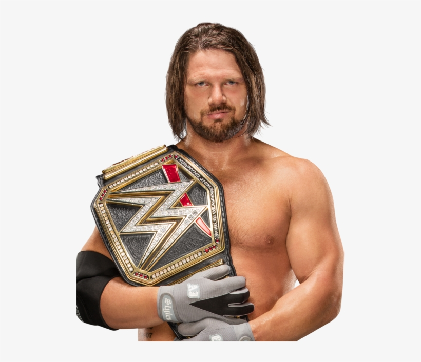 Wwe Road To Wrestlemania Is February 11th - Aj Styles Wwe World Heavyweight Championship, transparent png #1716987