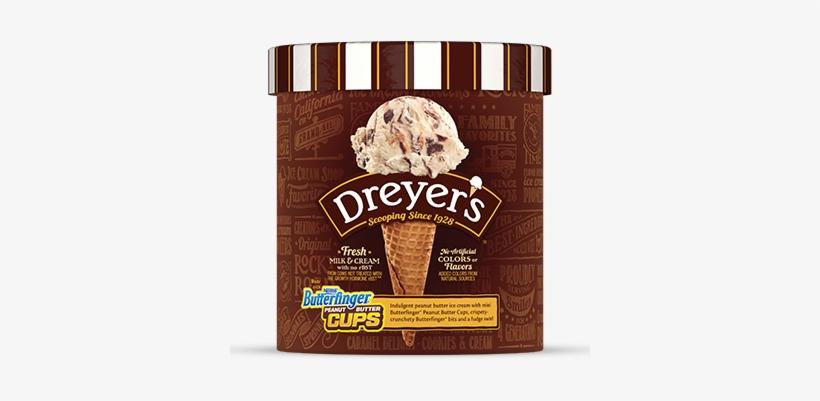 Nestlé® Butterfinger® Peanut Butter Cups - Dryers Chocolate Peanut Butter, transparent png #1718008